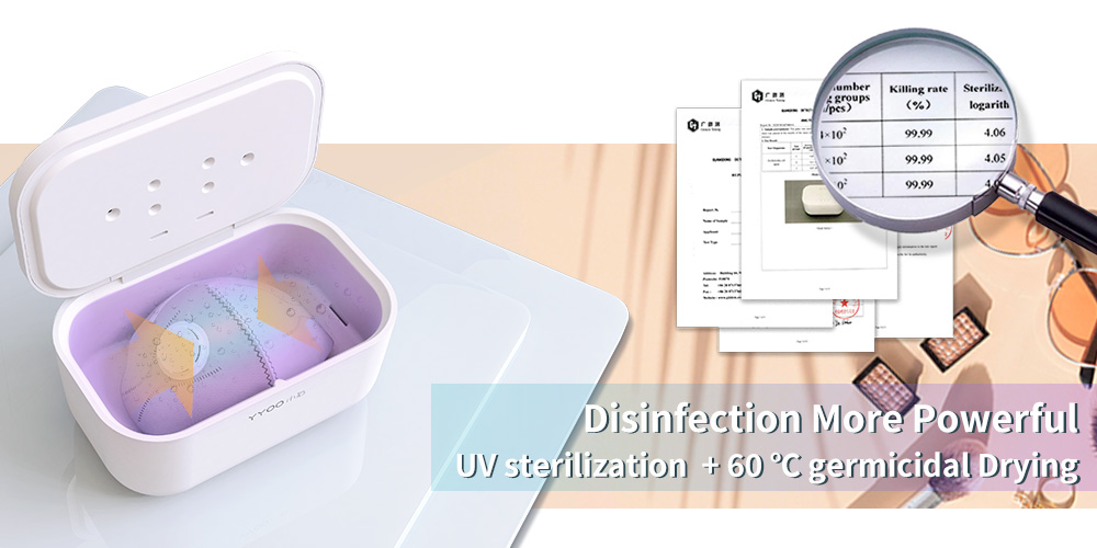 CPAP Mask UVC Sterilizer Box